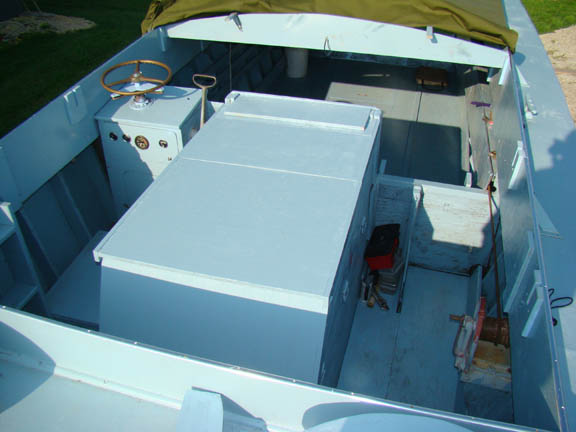 Figure 35 Cargo Compartment Floor Boards Added Plus Paint