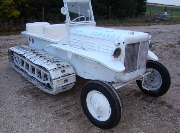 Military Vehicles For Sale Canada >> M7 Allis Chalmers Snow Tractor