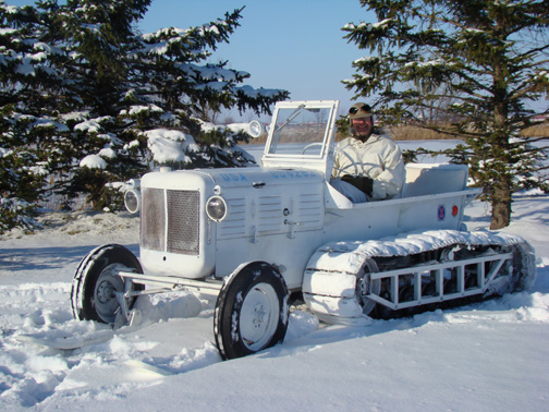 M7 Allis Chalmers Snow Tractor Restoration