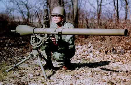 recoilless rifle