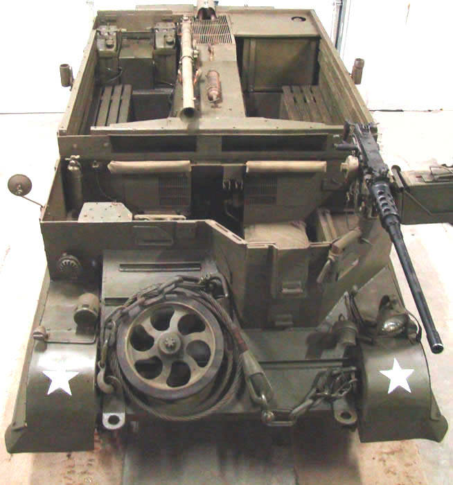75 MM GUN CARRIAGE